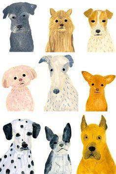 Itsuko Suzuki Dog Portraits