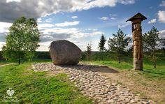 Juozapinės Hill / the third highest elevation in Lithuania (293,6 m) / Trečia pagal aukštį Lietuvoje Juzapinės kalva.
