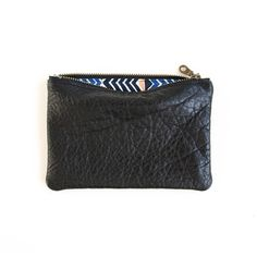 My design inspiration: Textured Mini Leather Pouch on Fab.