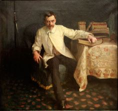 Painter of the Week: Sargent. Today: Arsène Vigeant, 1885