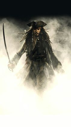 Pirates of the Caribbean images captain jack sparrow wallpaper and Captain Jack Sparrow, Jake Sparrow, Sparrow Art, Jack Sparrow Movies, Jack Sparrow Quotes, Johnny Depp Wallpaper, Pirate Art, Pirate Life, Pirate Skull