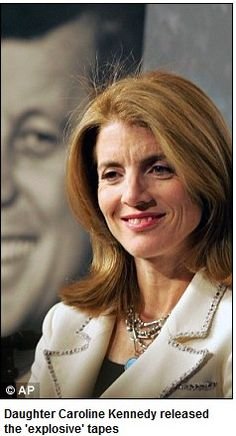 Recent photo of Caroline Kennedy....daughter of JFK and Jacqueline Kennedy Onassis.