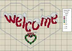 Cross Stitch *♥* Welcome