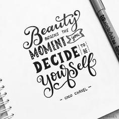 273 vind-ik-leuks, 4 reacties - Lettering & illustration (@oraarts) op Instagram: 'Latepost Day 24 of #letteringwithpositivity . #orahandlettering . . #calligraphy #lettering…'