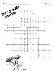 Progressive Movement Crossword Puzzle U.S. History Honors/A.P. Level  sc 1 st  Pinterest & Big Stick Dollar u0026 Moral Diplomacies Handout- Common Core ... 25forcollege.com
