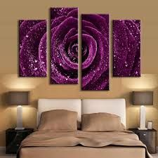 Image result for long floral plum colored painting