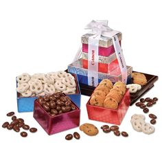 A Gift Planner favorite. Corporate Gift Baskets, Corporate Gifts, Customized Gifts, Personalized Gifts, Holiday Gifts, Themed Gift Baskets, Client Gifts, Thank You Gifts