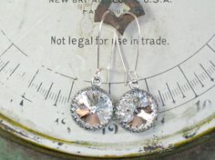 WEDDING EARRINGS for Bridesmaid Gifts by LivingOutLoudJewelry, $16.00