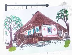 Decorating your Romanian country side house during weekend workshop Weekend Fun, Workshop, Traditional, Decorating, Country, House, Inspiration, Design, Decor