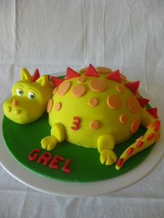 Dinosaur Birthday Cakes, 4th Birthday Cakes, Dinasour Cake, Birthday Cake For Husband, Dino Cake, Dragon Cakes, Breakfast Dessert, Occasion Cakes, Creative Cakes