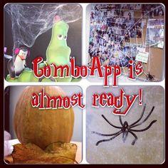 Halloween countdown! ComboApp's office is full of interesting creatures  #halloween #comboapp #comboappteam #office #officehero #decor #interior #spider #pumpkin #web #follow #like #instacool #instafun #instagood #party