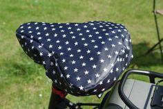 Fahrräder - Fahrradsattelbezug regenfest und kuschelig - ein Designerstück von…