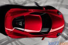 Alfa Romeo 4C - Above