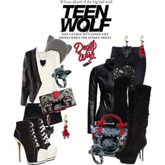 teen wolf inspired outfit