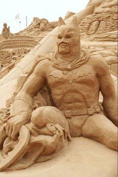 sand sculpture2 De fabuleuses sculptures de sables.