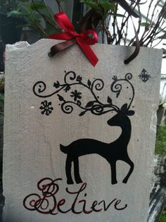 Reindeer Sign, Christmas Decor, Yard Sign, Home Decor, Wholesale Item, Reindeer…