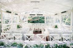 Romantic Dinner Party Wedding at Spicers Clovelly Estate :: Tamara & Shane Rustic Wedding Reception, Tent Reception, Wedding Venues, Wedding Day, Party Wedding, Orange Country, Pink And White Flowers, 2015 Wedding Dresses, Romantic Dinners