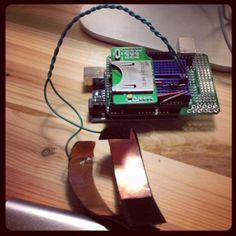 Galvanic skin response on an arduino