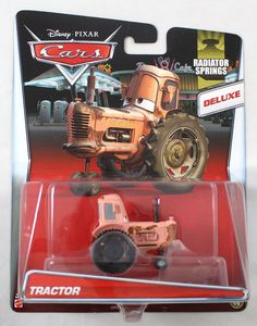 Amazon.com: Disney/Pixar Cars Deluxe Oversized Die-Cast Vehicle, Tractor: Toys & Games