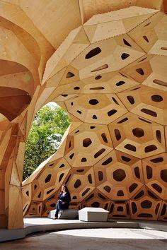 Blog de decoración Parametric Wood Architecture / ICD/ITKE Institute for…