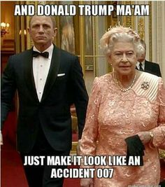Orig pinner wrote: Goodness bless the Queen! //LOL This is clever! (Clip from 2012 Olympics) It's good when we can laugh at our selves! No politically correct!!!!!!