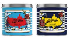 Kusmi Tea : Jean-Paul Gaultier crée des boîtes inédites