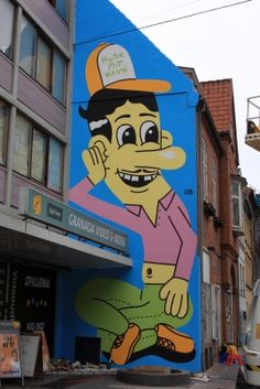 """Huskmitnavn"" - The danish streetartist ""Remembermyname"".."
