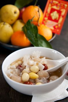 "Chinese ""tian tang"" sweet soup. Perfect for Chinese New Year! ♥ Dessert"