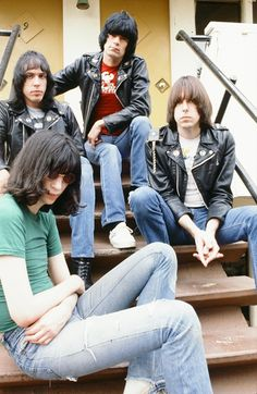Ramones in NYC NYC 1979
