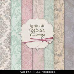 Far Far Hill: Freebies Kit of Fabriс - Winter Evening                                                                                                                                                                                 Mehr