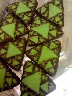 fractal cookies, aha reminds me of algebra 2.  good cookies for math teachers!