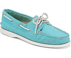 Sperry Top-Sider Cloud Logo Authentic Original 2-Eye Canvas Boat Shoe