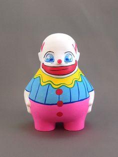 Meh, the Ambivalent CLown Piggy Bank, Art Work, Studio, Creative, Artist, Artwork, Work Of Art, Money Box, Artists