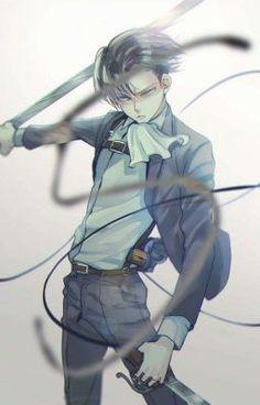 Levi Ackerman_Attack on Titan_Shingeki no kyojin Armin, Eren E Levi, Levi Mikasa, Attack On Titan Levi, Levi Ackerman, 5 Anime, Anime Guys, Anime Art, Ereri