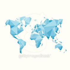 Free dotted world map vector free cnc and graphics abstract world map vector illustration geometric structure in blue color for presentation booklet website and other design projects gumiabroncs Choice Image