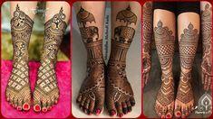 #hennatattooideas #hennainspiration Most Attractive And Beautiful Bridal Mehendi Designs For Legs|| Wonderful Henna Designs Collection Mehndi Tattoo, Mehndi Art, Mehendi, Bridal Mehndi Designs, Bridal Henna, Henna Designs, Thigh Henna, Mehndi Patterns, Mehndi Brides