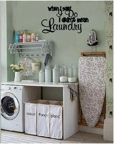 When I said 'I do' I didn't mean laundry. cute