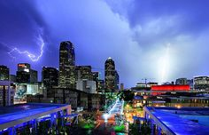 Dallas 2011 - At Night With Lightning (0 005)