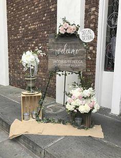 Wedding Welcome Simple Design