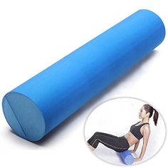 60x15cm EVA Yoga Gym Pilates Fitness Foam Roller Home Gym Massage Band -- Want to know more, click on the image.