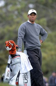 Tiger Woods looks on the 5th fairway during the Third Round at the Farmers Insurance Open at Torrey Pines South Golf Course on January 27, 2013 in La Jolla, California.  (January 26, 2013 - Source: Donald Miralle/Getty Images North America) s