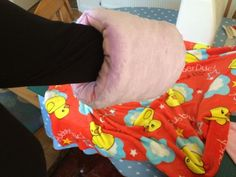 Abi's Den: Arm cushion baby pillow for holding and easy feeding