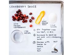 Thanksgiving InstaRecipes : Cranberry Sauce