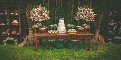 Festa Casamento #painelRealista #rustico