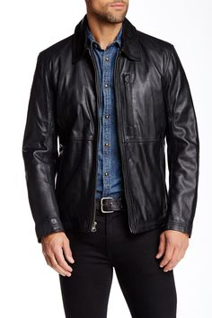 MacDougal Genuine Leather Jacket