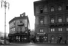 Skrzyżowanie placu Halickiego i ulicy Krzywej - Szkoła Kroju