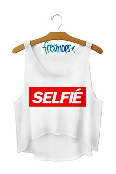 Selfie Crop Top - Fresh-tops.com