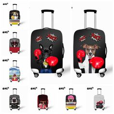 Travel on Road Luggage Cover with Boxing Design Protective For Trunk Case Apply to 18''~30'' Suitcase Thick Elastic Cover♦️ SMS - F A S H I O N 💢👉🏿 http://www.sms.hr/products/travel-on-road-luggage-cover-with-boxing-design-protective-for-trunk-case-apply-to-1830-suitcase-thick-elastic-cover/ US $17.99