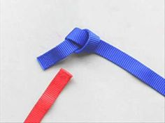 Webbing Knot- Water knot, Tape Knot- Overhand Bend