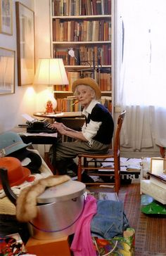 In fact, New York Magazine voted her one of New York's Most Beautiful People at the ripe old age of ninety! I'm dying to see this documentary about her. Talk about growing old gracefully!